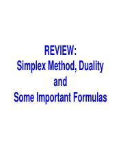 Lecture note 2 -Review (Simplex, Duality and Formulas).pdf