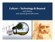 4A03 Lecture 5 - Technology, Culture & Beyond