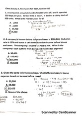 Chapter 5 Class Activity Solutions