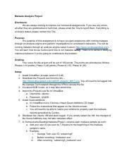 Project 2 Malware Analysis Writeup pdf - Malware Analysis Project