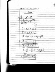 physics notes 2 2D motion