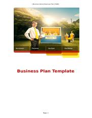 Assignment  Business Plan Template - AMENDED (T2, 2016).doc