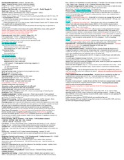 Accting 102 Midterm Cheat Sheet