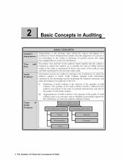 Chapter 2 Basic Concepts in Auditing