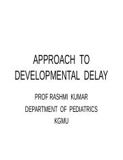 APPROACH_TO_DEVELOPMENTAL_DELAY.ppt