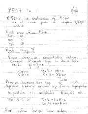 Lecture Notes A on Electricity and Magnetism