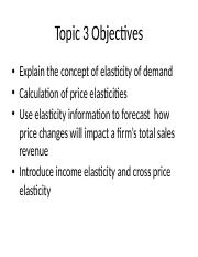 Topic 3 - Elasticity and Business Pricing Strategies.pptx
