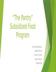 The Pantry Programme revised.pptx