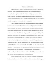 Antigone Short Paper #3