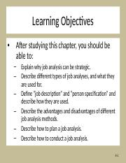 Chapter 4 Discussion - Strategic Job Analysis.ppt