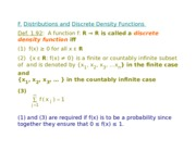 math 2030 discrete and uniform variables