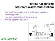 11A_Problem Solving with Graphs (Simultaneous Equations)