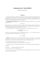 Homework Unsolved Math 3200 - 10