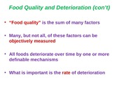 Food Quality (2)-Shelf Life (1)