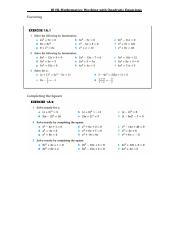 MATH IBSL : IB Mathematics Standard Level - ISM - Course Hero