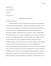 Economic Growth assignment 4