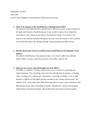 Unit IV Assignment_Small Business Administration.docx
