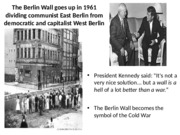 JFK - The Berlin Wall Quote
