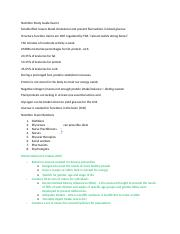 Nutrition Study Guide Exam I.docx