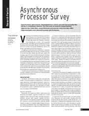 asynchronous processor survey.pdf