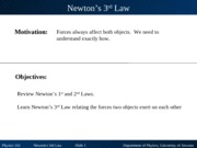 Newtons 3rd Law