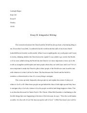 Integrative Writing