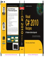 Visual C# 2010 Recipes.pdf