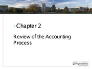 ASIS3115 Chapter 2 Review for Accounting Process
