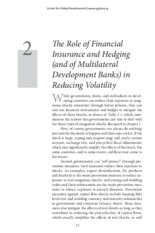 the role of financial insurance and hedging in reducing volatility.pdf