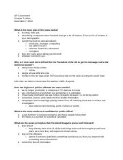 GOVChapter7Notes