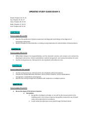 Adult Health Exam 5 Study Guide(1).docx