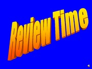 Review I