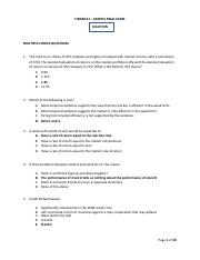 Finance - Sample Final exam - Solution.pdf