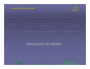 ee020 Lecture 02 - Matlab Intro