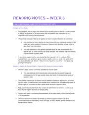 2014 10 13 Reading Notes – Week 6