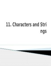 11. Characters and Strings (1).pptx