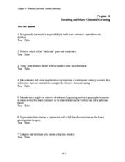 Chap019 - Chapter 19 Personal Selling and Sales Management Chapter ...