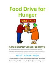 Food Drive for Hunger assignment Micah and Dani.docx