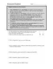 electrostatic-worksheet-with-solution