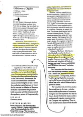 Gibbons v. Ogden Case Study with Student generated annotations