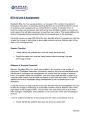 MT140-10 Introduction to Management