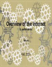 4.c. Overview of the Internet (Performance)