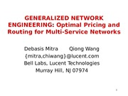 D+Mitra-Q+Wang_Joint+Optimal+Pricing+and+Routing+in+Multiservice+Networks