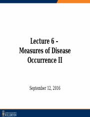 Lecture 6 - Measures of Disease Occurrence II_dist.pptx