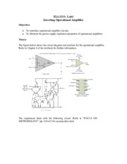 Lab1 Inverting Operational Amplifier for Introduction to Laboratory.pdf