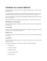 Attributes of a Good Collateral.docx
