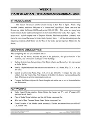 052 WEEK 3 PART 2 Japan -The Archeological Age - Copy