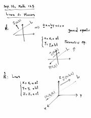 Lecture Notes, Sep. 16, Math 125