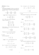 Homework 14 Solution Winter 2008 on Ordinary Differential Equations
