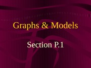 Graphs and Model